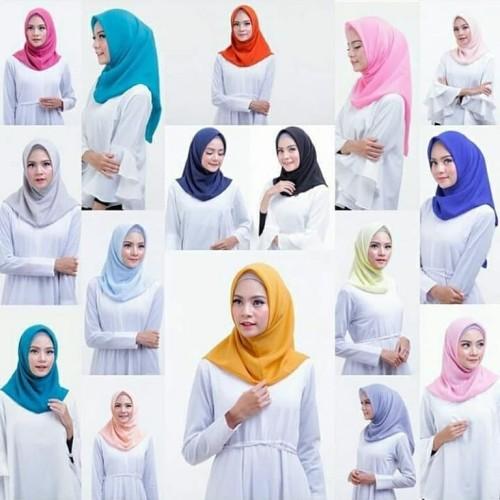 Foto Produk Jilbab instan/hijab instan double hycon Bella instan dari Ararya-grosir