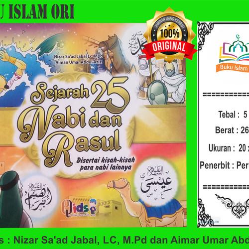Foto Produk Sejarah 25 Nabi dan Rasul ORI 1set - Perisai Qids dari Buku Islam Ori