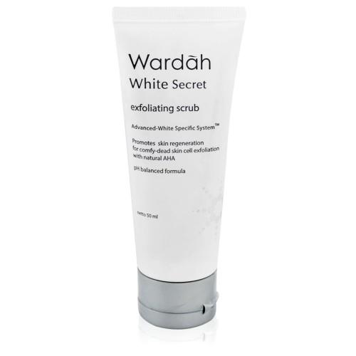 Foto Produk Wardah White Secret Exfoliating Scrub 50 ml dari Wardah Official