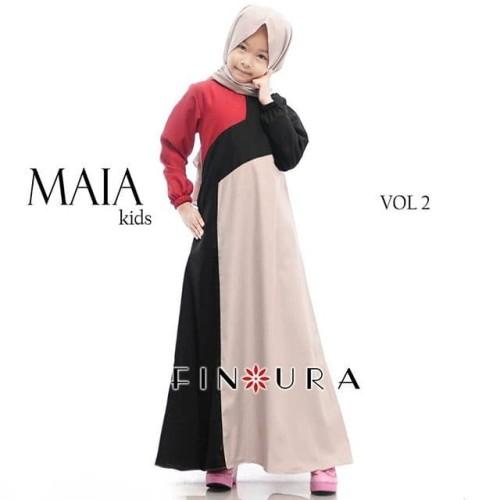 Foto Produk Gamis Anak / Maia Kids Vol 2 by Finoura (Coksu) dari finoura