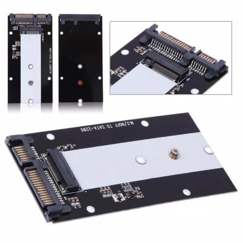 Foto Produk M2/M.2 NGFF SSD To SATA 3.0 Konverter Card - B Key dari Teguh Bom2