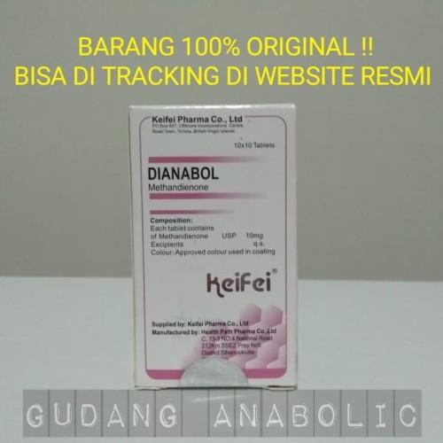 Foto Produk Dianabol Keifei Pharma 10 mg 100 tablet dari Gudang Anabolic