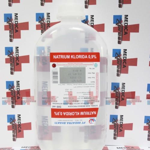 Foto Produk infus NaCL (Widatara/B-Braun) dari Medica Xpress