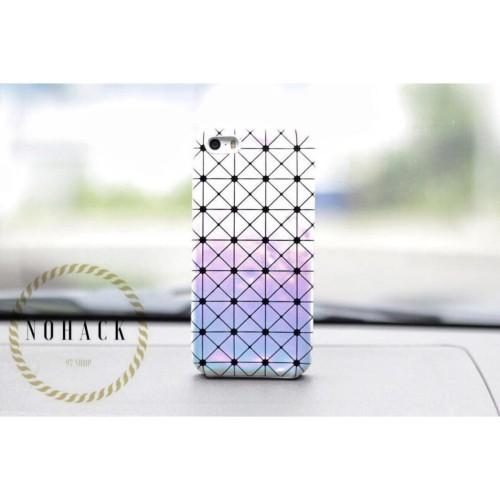 Foto Produk Mozaic hologram glossy case cute ip iphone 4 4s 5 5S SE 6 6S 6+ 6Splus dari Caseayangan ID