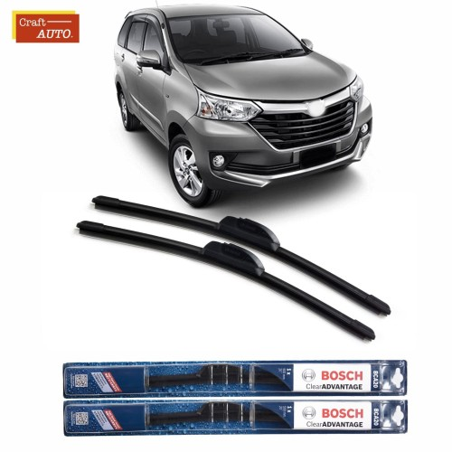 Foto Produk Wiper Mobil Bosch Frameless Toyota New Avanza Sepasang (2pcs) dari Craft Auto Official