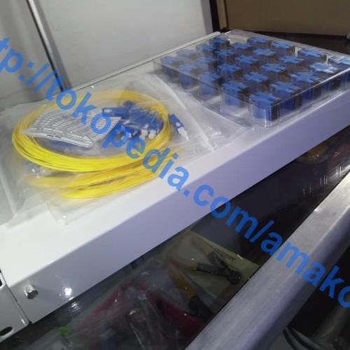 Foto Produk OTB Rack 24 Core SC Model NWC, Lengkap dari AMAKOM MEDIA KOMUNIKA