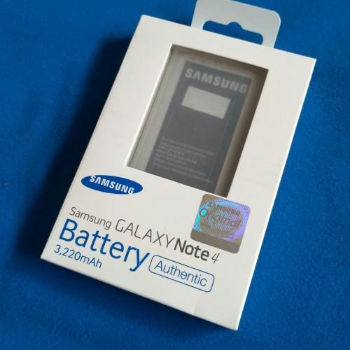 Foto Produk Baterai Battery Batere Samsung Galaxy Note 4 Original dari D'comshop