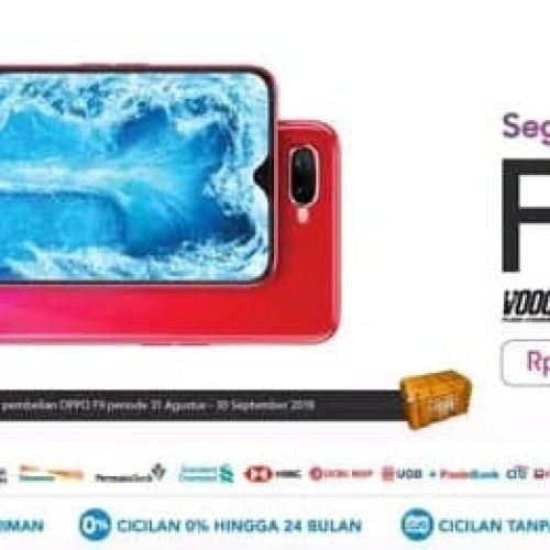 Foto Produk Oppo F9 4GB 64GB New dari Phonecell25