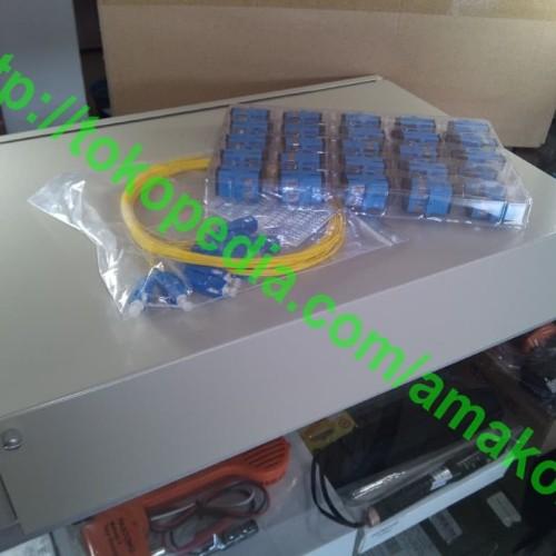 Foto Produk OTB Rack 48 Core, SC Adaptor lengkap dari AMAKOM MEDIA KOMUNIKA