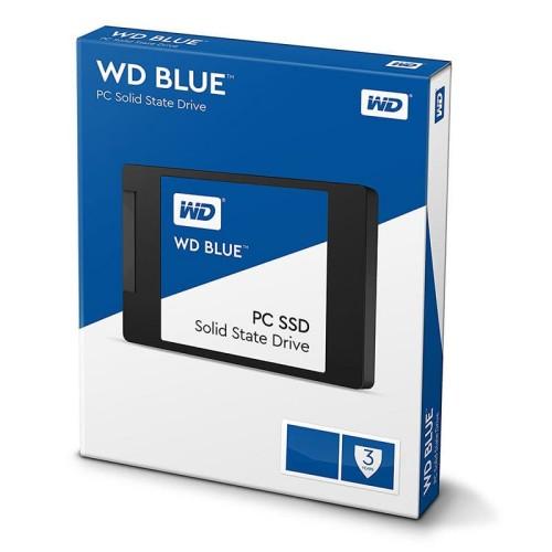 """Foto Produk WD SSD BLUE 250GB / 2.5"""" SATA 7mm SSD / 3D NAND SSD / 5 years warranty dari @Kiosk"""
