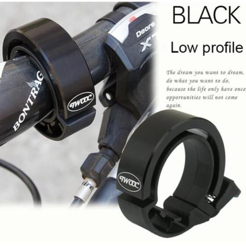Foto Produk Termurah ! Klakson Bel Sepeda Suara Nyaring - Black dari rubic wear