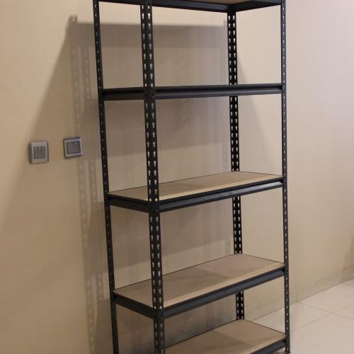 Foto Produk Rak Besi Siku Tanpa Baut - Boltless Steel Rack dari Voucher voucher