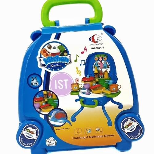 Foto Produk Kitchen Kids Fun BIRU No.6661-1 dari istanatoys.net