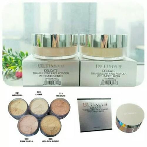 Foto Produk 24gr Ultima II Delicate Translucent Face Powder dari mejikushop
