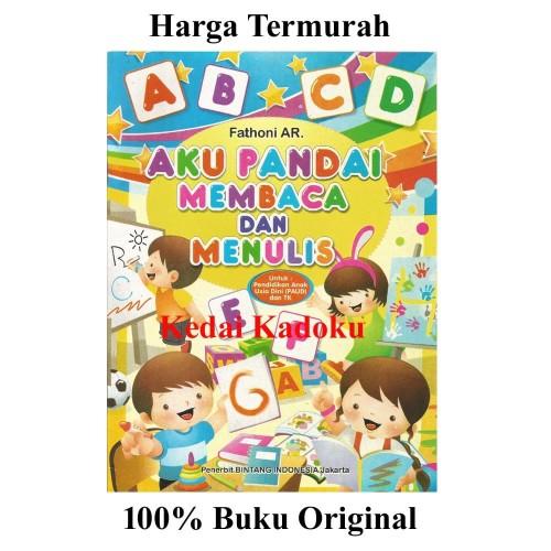 Foto Produk Buku Aku Pandai Membaca Dan Menulis Untuk PAUD / TK Edukatif Murah dari Kedai Kadoku