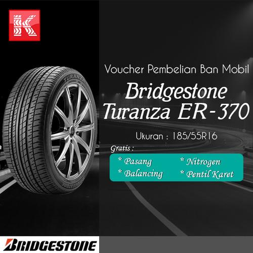 Foto Produk Ban Mobil Bridgestone Turanza ER370 185/55R16 Vocer dari Kiosban