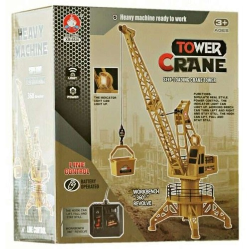 Foto Produk Mainan Anak RC Alat Berat Tower Crane XM-6820 dari istanatoys.net