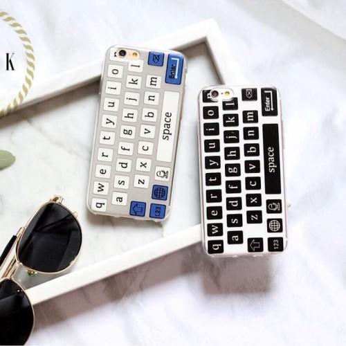 Foto Produk Qwerty case samsung ip iphone 4 5 5S se 6 6s 6+ 6s+ plus grand prime dari Caseayangan ID