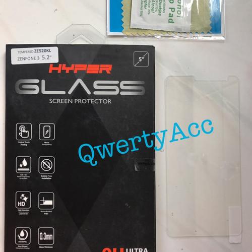 Foto Produk Tempered Glass Hyper Asus Zenfone 3 (ZE520KL) 5.2inch dari QwertyAcc