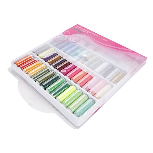 Foto Produk Benang Jahit Warna - Colored Sewing Thread 39 pcs dengan Tas dari Service Jaya Supply