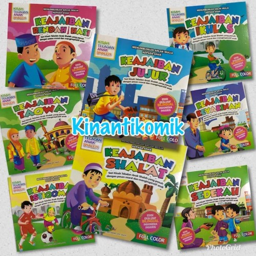 Foto Produk Kisah Teladan Anak Shaleh - Edisi Buku Anak Islami (SDO) - Ikhlas dari Kinantikomik