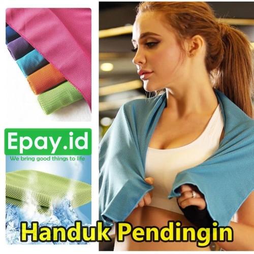 Foto Produk Handuk Pendingin Cooling Towel 90x30cm Towel Gym Olahraga Jogging Yoga dari Epay ID