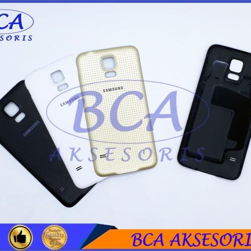 Foto Produk BACKDOOR SAMSUNG GALAXY S5 TUTUP BELAKANG /BACK CAVER / BACK DOOR dari BCA AKSESORIS