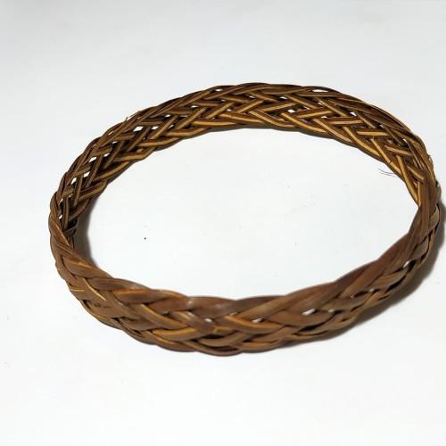Foto Produk VeE Gelang Pria Wanita Anyaman Rotan Pipih Khas Papua- Gelang Rotan dari Vee Jewelry