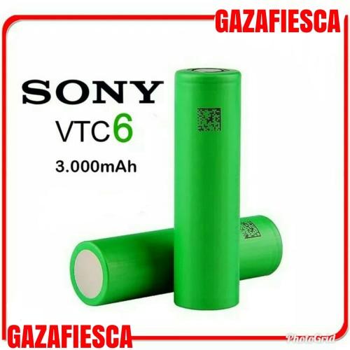Foto Produk Baterai Sony Vtc6 Positif 3 PIN Negatif Flat Firing Kualitas Authen - OBRAL dari gazafiesca