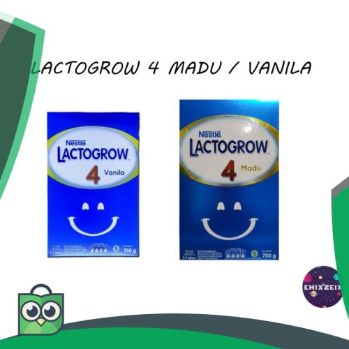 Foto Produk LACTOGROW 4 750gr MADU / VANILLA (KEMASAN BARU) dari Anggis Shop.ID