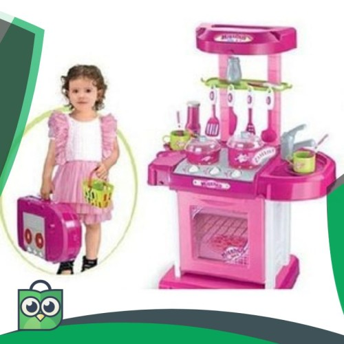 Foto Produk Mainan Masak - masakan Dapur Kitchen Set Koper Anak Perempuan berat dari Anggis Shop.ID