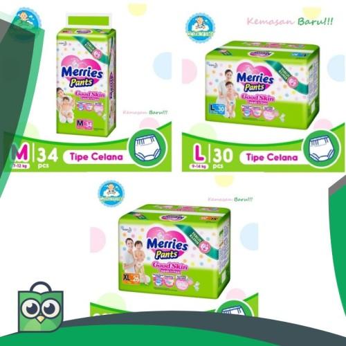 Foto Produk Merries Good Skin M34/L30/Xl26 dari Anggis Shop.ID