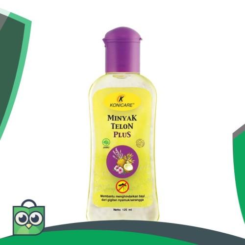 Foto Produk KONICARE Minyak Telon Plus Botol 125 ml Anti Nyamuk dari Anggis Shop.ID