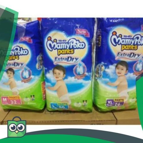 Foto Produk MPPD m32, L30, xl26, xxl22 mamy poko pants extra dry mickey mouse dari Anggis Shop.ID