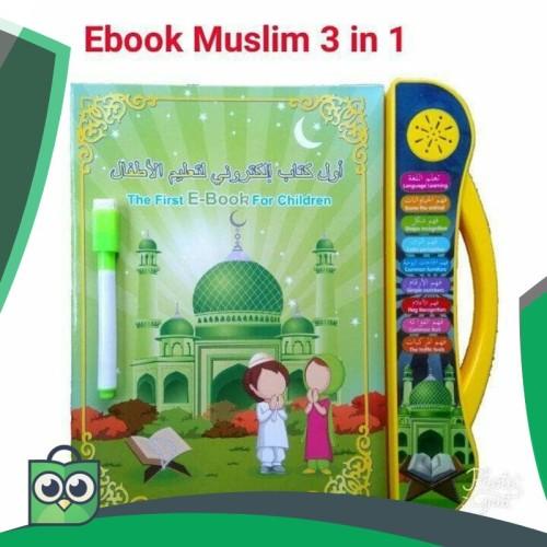 Foto Produk Mainan edukasi anak muslim ebook 3 bahasa dari Anggis Shop.ID