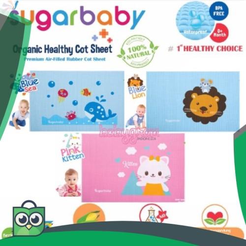 Foto Produk Perlak Ompol Bayi Karet Sugar Baby Sugarbaby Organic Healthy Cot dari Anggis Shop.ID