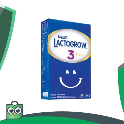 Foto Produk NESTLE Lactogrow 3 Happynutri 750gr Plain & Madu/JASONSMARKET dari Anggis Shop.ID