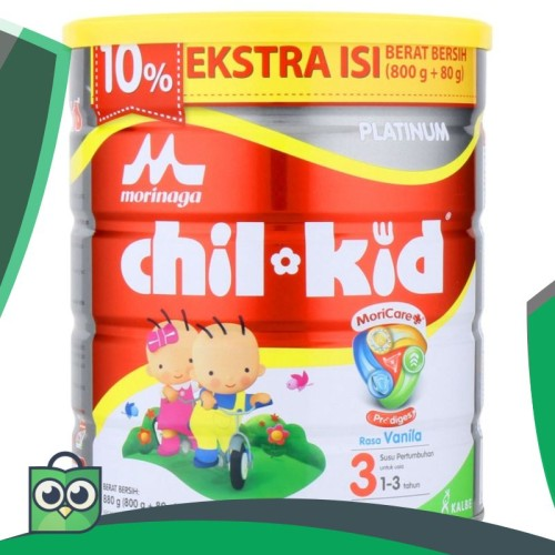 Foto Produk Morinaga chil kid(chilkid) platinum 800 gram vanila / madu 10% exp dari Anggis Shop.ID