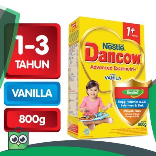 Foto Produk Nestle Dancow Advanced Excelnutri 1  VANILA 800g/RAJAMARKET dari Anggis Shop.ID