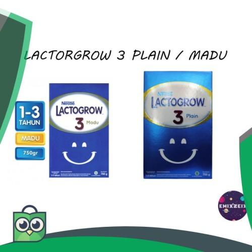Foto Produk LACTOGROW 3 750gr PLAIN / MADU (KEMASAN BARU) dari Anggis Shop.ID