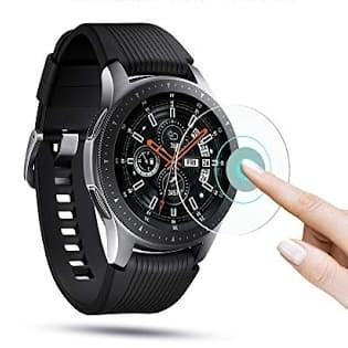 Foto Produk Tempered glass samsung Galaxy Watch 46mm 46 mm anti gores kaca dari Rkaseshop