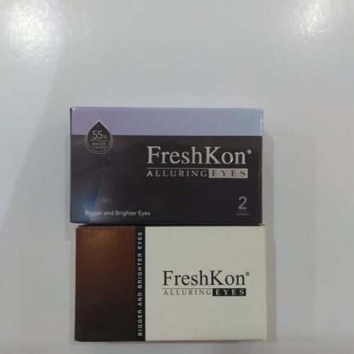 Foto Produk Softlens Disposable Freshkon Alluring Eyes-Winsome Brown dari TLS Optical Center