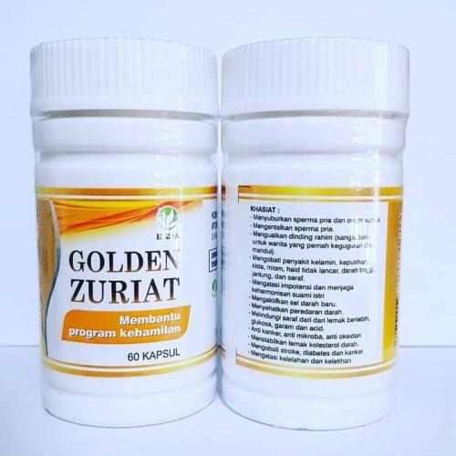 Foto Produk Menyuburkan Sperm4 Pria & Ovum Wanita|KAPSUL GOLDEN ZURIAT EZA dari BandarHerbal Eza