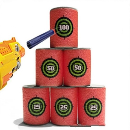 Foto Produk 6pcs Target Peluru Nerf Dart dari toys village