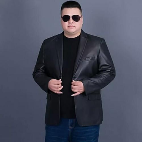 Foto Produk Jas blazer kulit big size xxl ,xxxl ,xxxxl,xxxxxl dari king jacket