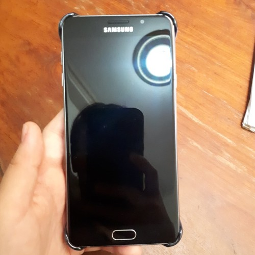 Foto Produk Samsung A7 2016 !!! SECOND !!! - Hitam dari Ganesha_Teknik