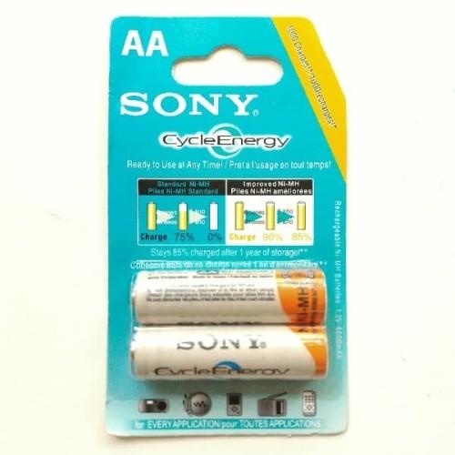 Foto Produk Baterai Batere Sony AA Rechargeable Bisa Di Cas Ulang dari ikiOke