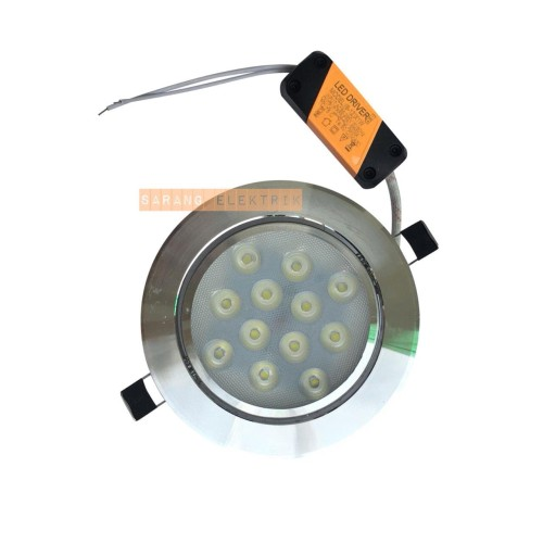 Foto Produk downlight LED 12w / 12 w / 12watt - Warmwhite dari GrosirAksesorisFashion