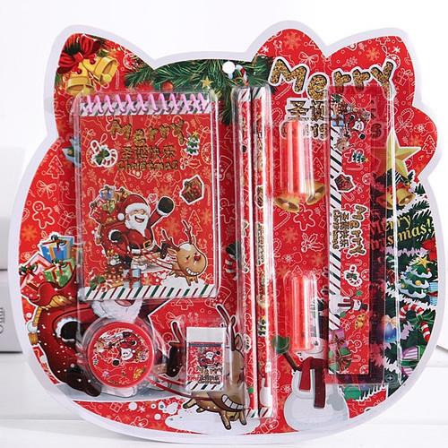 Foto Produk Kado natal, alat tulis set tema natal, stationary X'mas souvenir natal dari KAYO