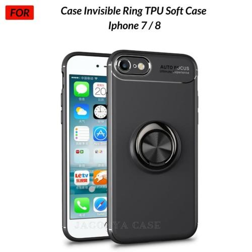 Foto Produk Case Autofocus Invisible Iring Iphone 7 Iphone 8 Soft Case - Hitam dari Jagonya Case